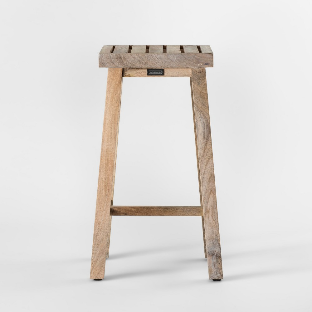 Wood Plant Stand Short - Smith & Hawken, Natural