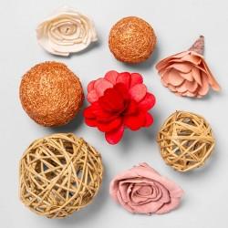 Unscented Shola Flower & Palm Vine Vase Filler - Opalhouse™