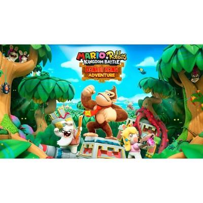Mario + Rabbids Kingdom Battle: Donkey Kong Adventure DLC - Nintendo Switch (Digital)