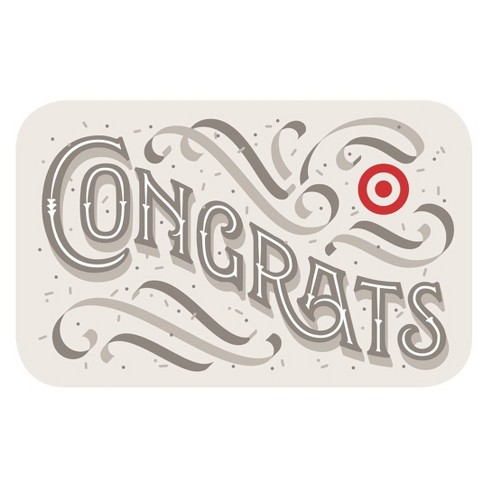 Fancy Congrats GiftCard - image 1 of 1