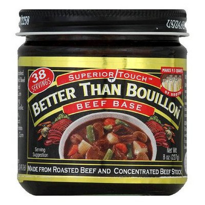 Superior Touch Better Than Bouillon Beef Base 8oz