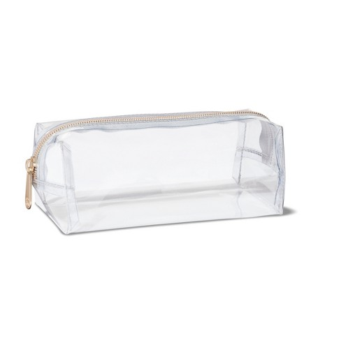 Sonia Kashuk Large Pencil Case Makeup Bag Clear
