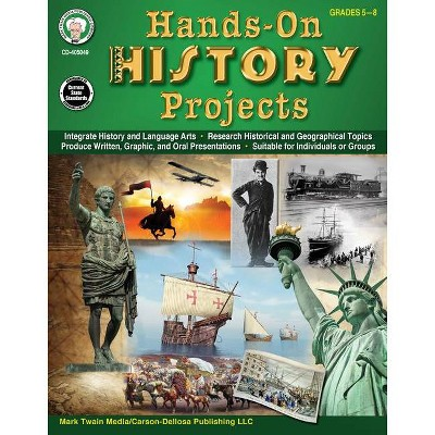 Hands-On History Projects Resource Book, Grades 5 - 8 - by  Joyce Stulgis Blalok (Paperback)