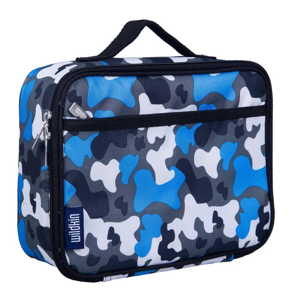 Wildkin Camouflage Lunch Box Blue