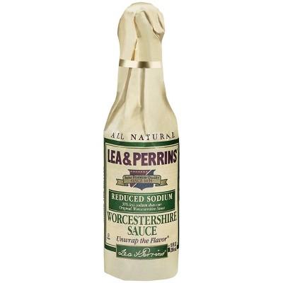 Lea & Perrins Reduced Sodium Worcestershire Sauce - 10oz