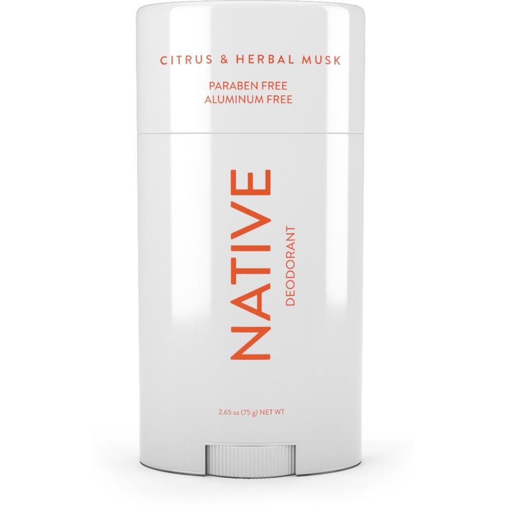 Image of Native Citrus & Herbal Musk Deodorant - 2.65oz