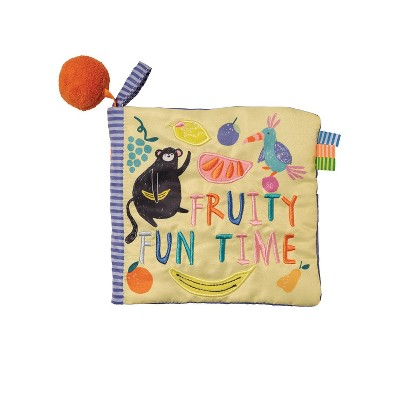 Manhattan Toy Fruity Fun Time Soft Book, Ages 0 Months and Up