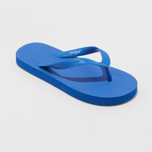 5305a2712f7c7 Boys  Wayne Flip Flop Sandals - Cat   Jack™ Blue   Target