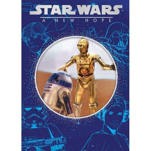 Star Wars: A New Hope - (Disney Die-Cut Classics) (Hardcover) - image 1 of 1