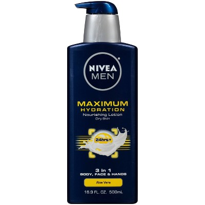 Nivea for Men Maximum Hydration Lotion - 16.9oz