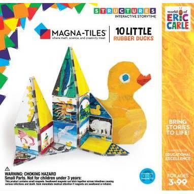 Magna-Tiles Eric Carle 10 Little Rubber Ducks