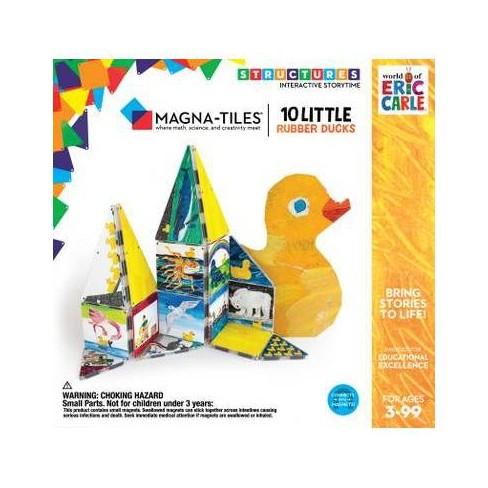 Magna-Tiles Eric Carle 10 Little Rubber Ducks - image 1 of 3