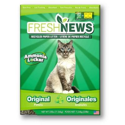 Fresh News Recycled Paper Cat Litter - 25lb