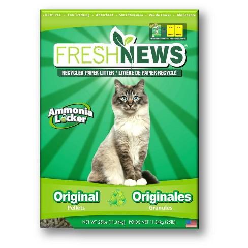 sWheat Scoop Fresh News Original Paper Pellet Cat Litter - 25lb - image 1 of 3