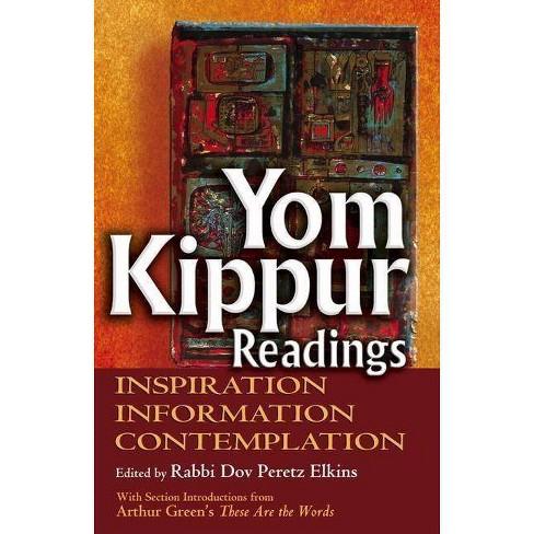 Yom Kippur Readings - (Hardcover) - image 1 of 1