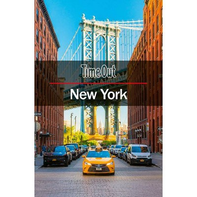 Time Out New York City Guide - (Time Out City Guide) 25th Edition (Paperback)