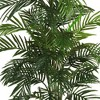 4.6ft Artificial Areca Palm Silk Tree in Basket - Nearly Natural - image 2 of 3