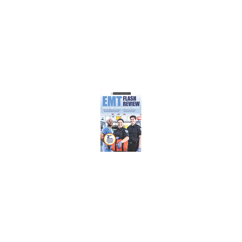 Emt Flash Review (Revised / Updated) (Paperback)