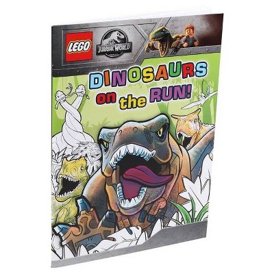 Lego(r) Jurassic World(tm): Dinosaurs on the Run! - (Coloring Books) (Paperback)