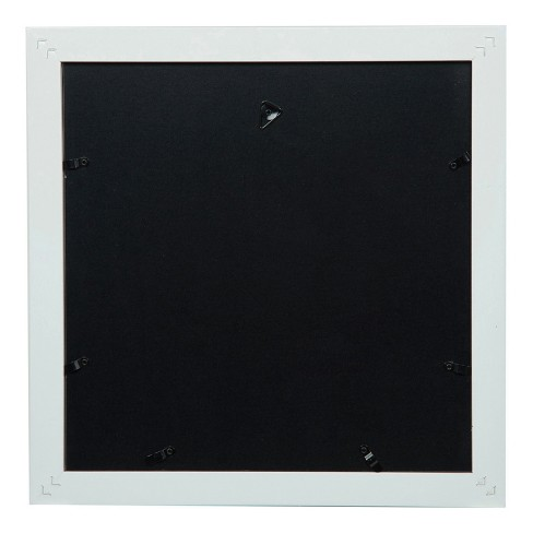 Single Image 12x12 Wide Double Mat White 8x8 Frame Gallery