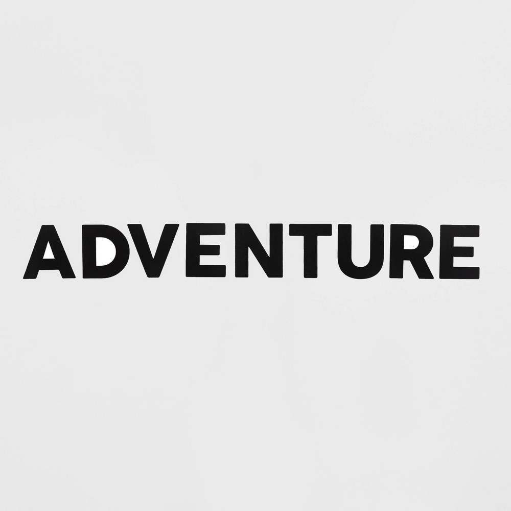 Image of Adventure Removable Wall Decal Black - Room Essentials