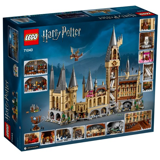 LEGO Harry Potter Hogwarts Castle Advanced Building Set Model with Harry Potter Minifigures 71043 image number null