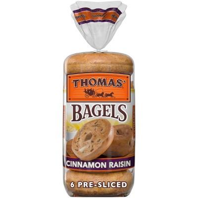 Thomas' Cinnamon Raisin Bagels - 20oz/6ct