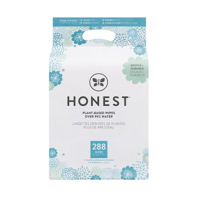 The Honest Company Plant-Based Baby Wipes Classic Print (Select Count)