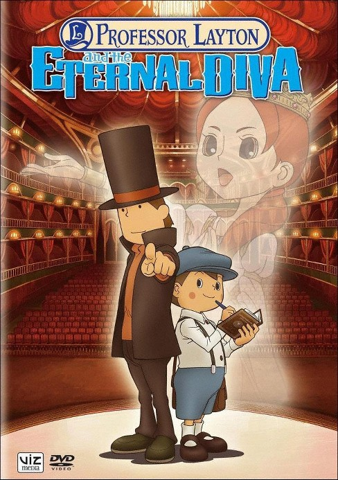 Professor layton and the eternal diva (DVD) - image 1 of 1