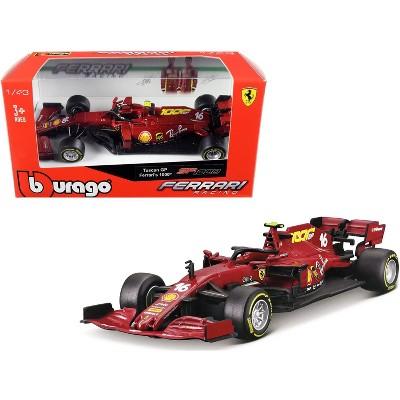 "Ferrari SF1000 #16 Charles Leclerc Tuscan GP Formula One F1 (2020) ""Ferrari's 1000th Race"" 1/43 Diecast Model Car by Bburago"