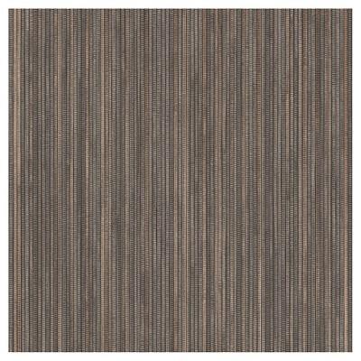 Tempaper Grasscloth Removable Wallpaper Dark Brown