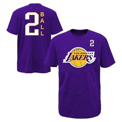 NBA Los Angeles Lakers Boys  Performance Player T-Shirt. Shop all NBA f9b488da2