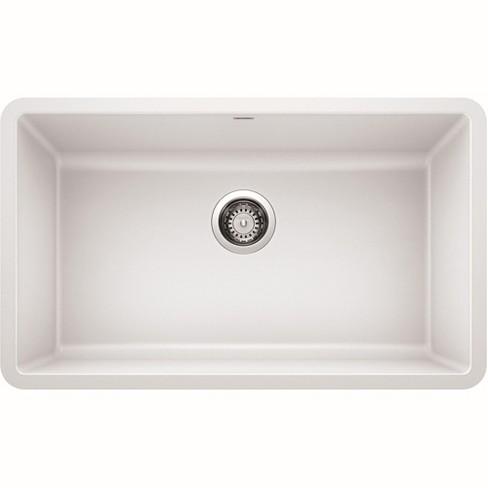 Blanco 442533 Precis 30 Undermount Single Basin Composite Kitchen Sink