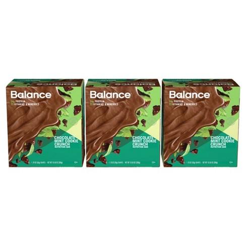 Balance Bar Nutrition Bar - Chocolate Mint Cookie Crunch - 1 76oz/18ct