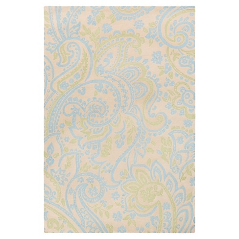 Sky Blue Amina Kid's Rug (2'x3') - Surya® - image 1 of 1