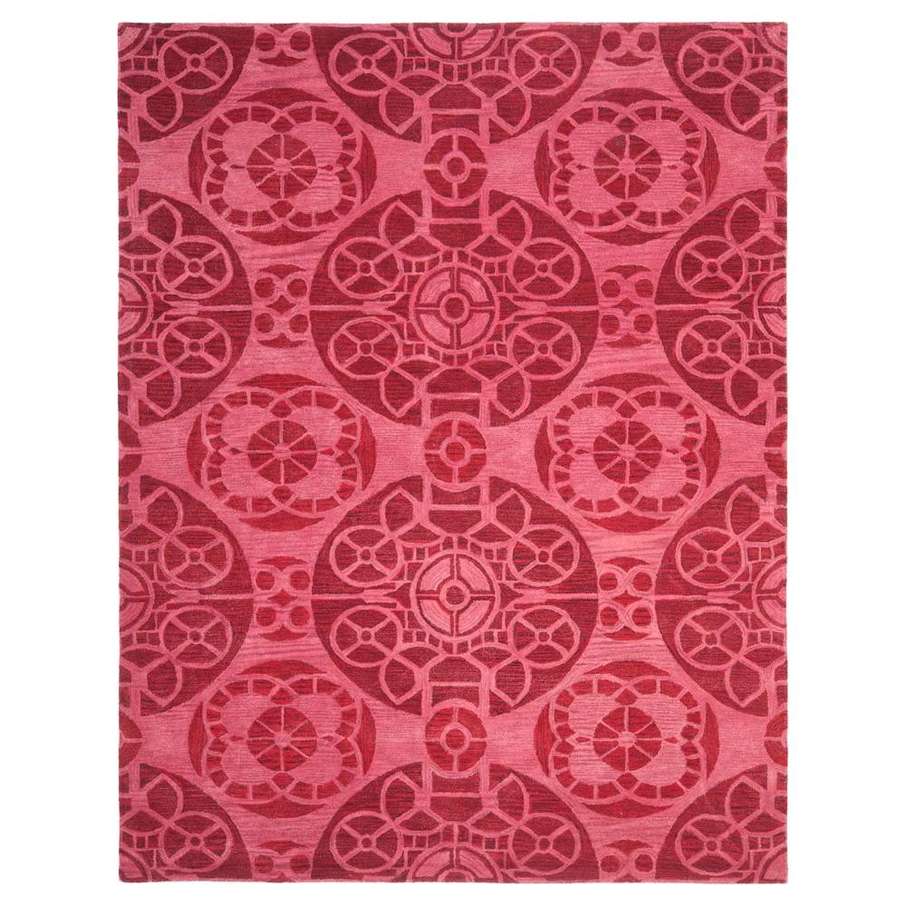 Jermayne Area Rug - Red (8'x10') - Safavieh