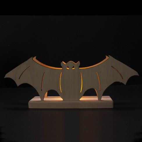 Hand Made Modern Unfinished Craft Bat - White - image 1 of 1