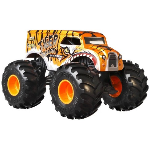 Hot Wheels Monster Trucks Ring Master Tiger Shark 1 24 Scale Target