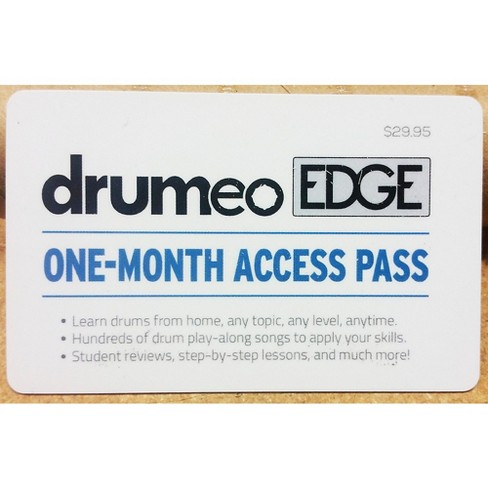 Drumeo Edge Membership Card - One Month - image 1 of 1