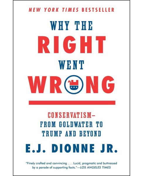 Why the Right Went Wrong : Conservatism from Goldwater to Trump and Beyond (Reprint) (Paperback) (Jr. E. - image 1 of 1