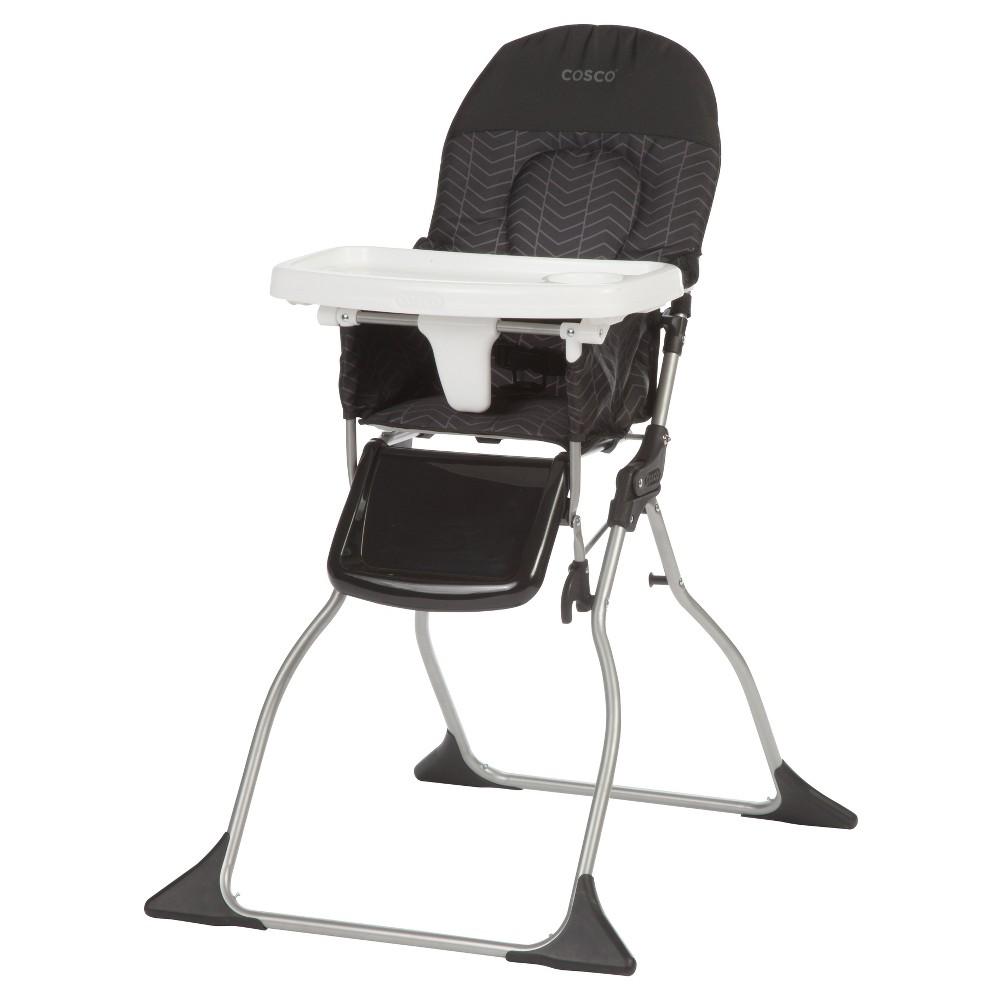 Cosco Simple Fold High Chair - Black Arrows