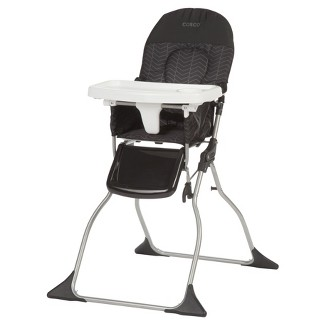 Cosco Simple Fold High Chair - Black Arrows