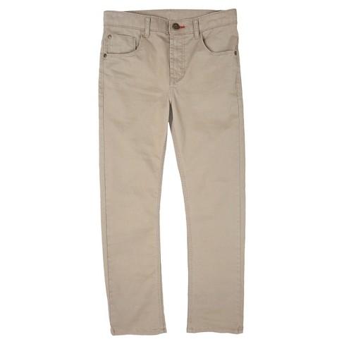 b45e65990484 Wrangler® Boys  Chino Pants Premium Slim Straight - Khaki   Target