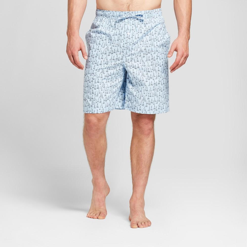 Men's Woven Pajama Shorts - Goodfellow & Co Bayshore Blue L