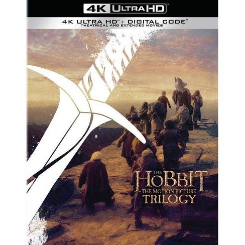 The Hobbit: Motion Picture Trilogy (Extended & Theatrical)(4K/UHD) - image 1 of 4