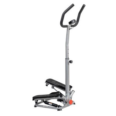 Sunny Health & Fitness Stair Stepper Machine with Handlebar