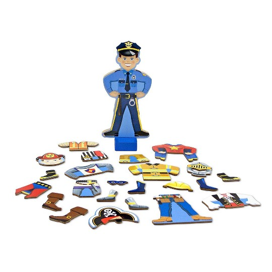 Melissa & Doug Joey Magnetic Wooden Dress-Up Pretend Play Set (25+pc) image number null