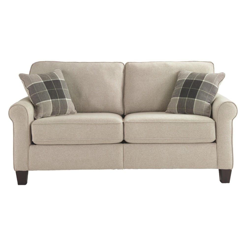 Lingen Loveseat Fossil Brown - Signature Design by Ashley
