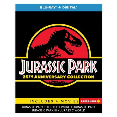 Jurassic Park 25th Anniversary Collection (Target Exclusive)(Blu-Ray)