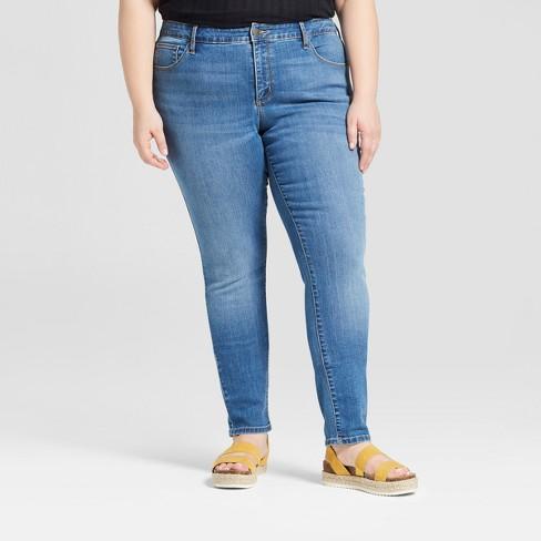 d6d0d8badab Women s Plus Size Skinny Jeans - Universal Thread™ Medium Wash   Target